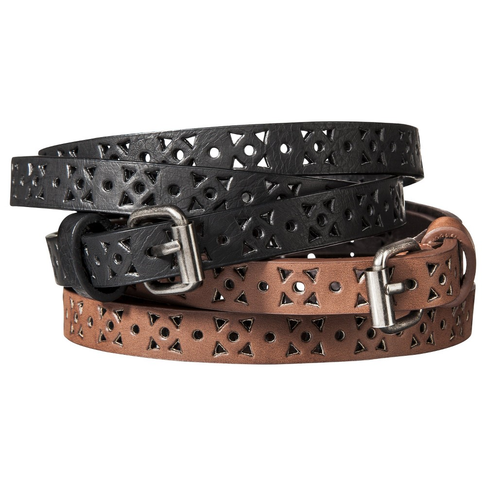 Mossimo Supply CO. Black Belt - XS, Womens, Variation Parent