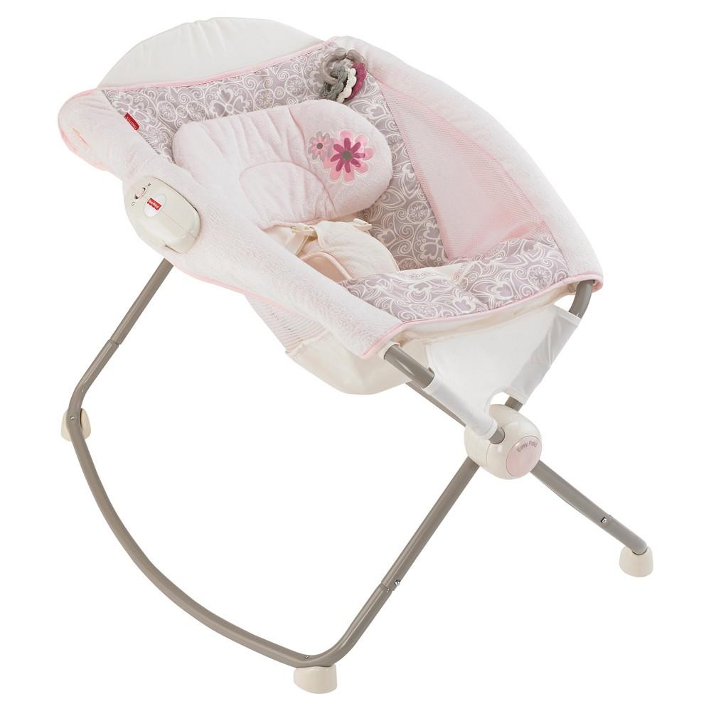 Fisher-Price Deluxe Newborn Rock n' Play Sleeper - My Little Sweetie, Pastel Pink