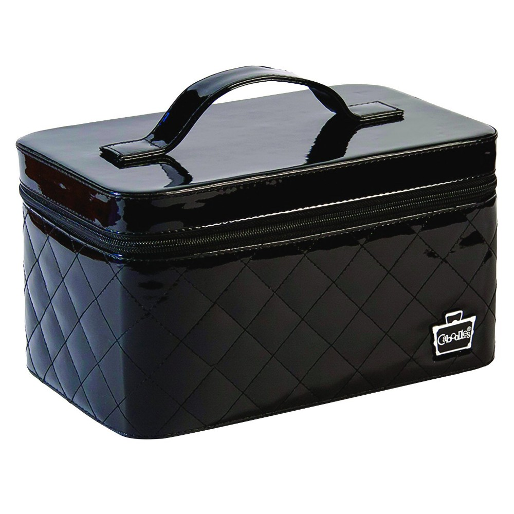 Caboodles Patent Vanity Valet - Black - 10 in