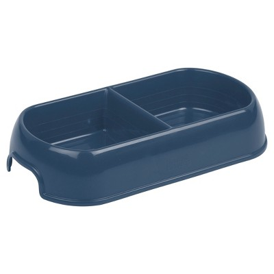 Plastic Double Dinner Dog Food Bowl - Boots & Barkley™