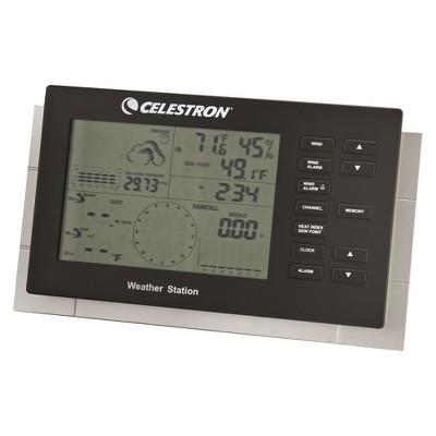 CELESTRON® Deluxe Weather Station - White/Black
