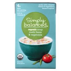 Organic Rustic Bean and Vegetable Soup 17.3 oz - Simply Balanced™