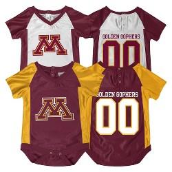 NCAA Minnesota Gophers Newborn Bodysuit 2-pc. Maroon