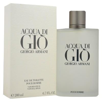 Acqua Di Gio by Giorgio Armani Eau de Toilette Men's Spray Cologne - 6.7 fl oz