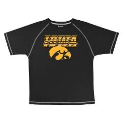 Iowa Hawkeyes Boys' Short Sleeve T-Shirt - Black