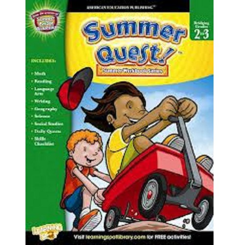 Summer Quest! : Bridging Grades 2 to 3 (Workbook) (Paperback) - image 1 of 1