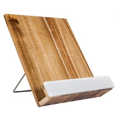 Acacia Wood Cookbook Holder - Threshold™