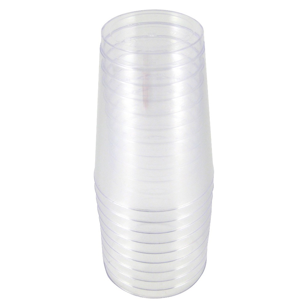 10ct Clear Cup - Spritz, Disposable Cups