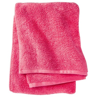 Fast Dry Bath Towel Ultra Coral - Room Essentials™