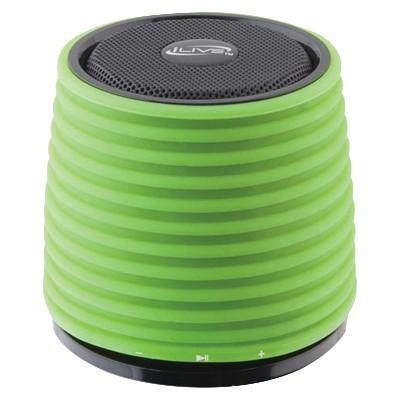 Portable Bluetooth Wireless Speaker - Green (ISB212GN)