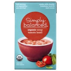 Organic Tomato Basil Soup 17.3 oz - Simply Balanced™