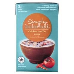 Chicken Tortilla Soup 17.3 oz - Simply Balanced™