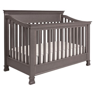 Million Dollar Baby Classic Foothill 4-in-1 Convertible Crib with Toddler Rail - Weathered Gray