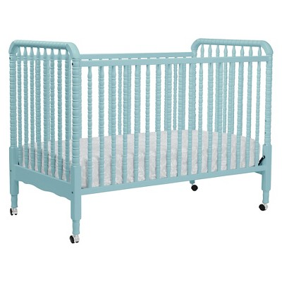 DaVinci Jenny Lind 3-in-1 Convertible Crib with Toddler Rail - Lagoon