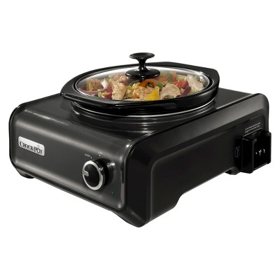 Crock-Pot¨ Hook Up¨ 2 Qt. Connectable Entertaining System - Metallic Charcoal Sccpmd2-Ch