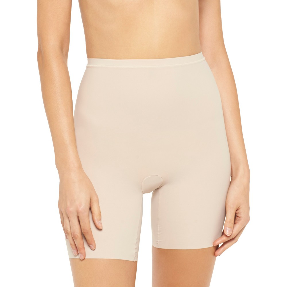 Maidenform Self Expressions Womens Body Con Shorty 228 - Beige Xxl