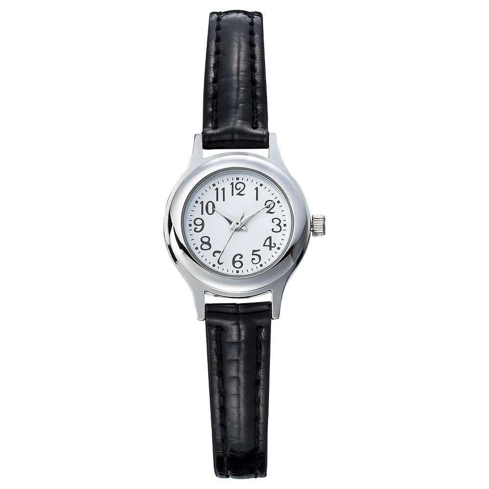 Womens Mini Analog Watch - Black - Merona