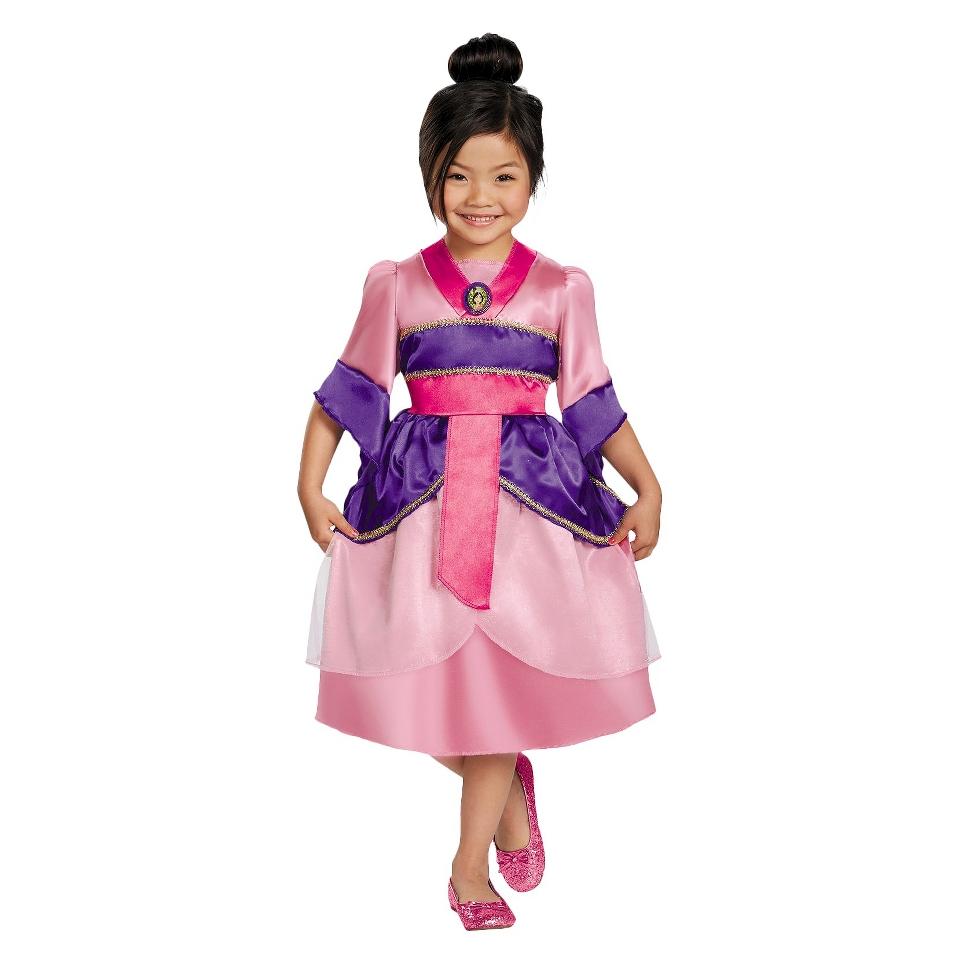 Toddler/Girls Mulan Sparkle Costume