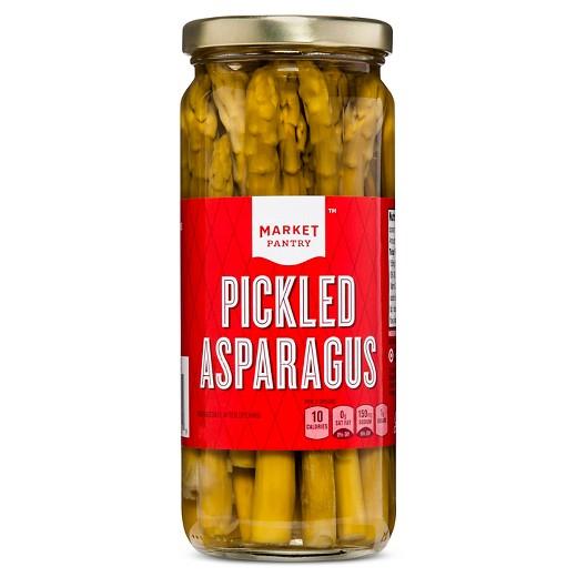 Pickled Asparagus - 16oz - Market Pantry : Target