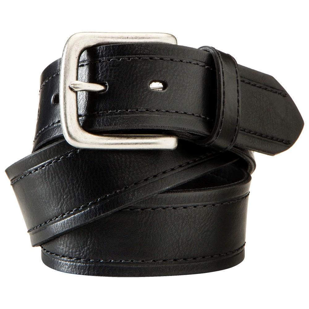 Mens Leather Belt - Black Xxl - Merona, Size: Xxl(44-50)