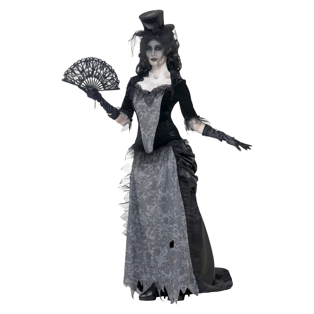 Womens Ghost Town Costume Small, Variation Parent