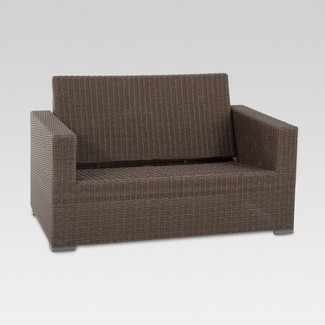Wooden Garden Furniture Love Seats outdoor sofas & loveseats : target