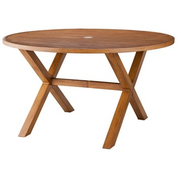 Threshold Round Patio Dining Table