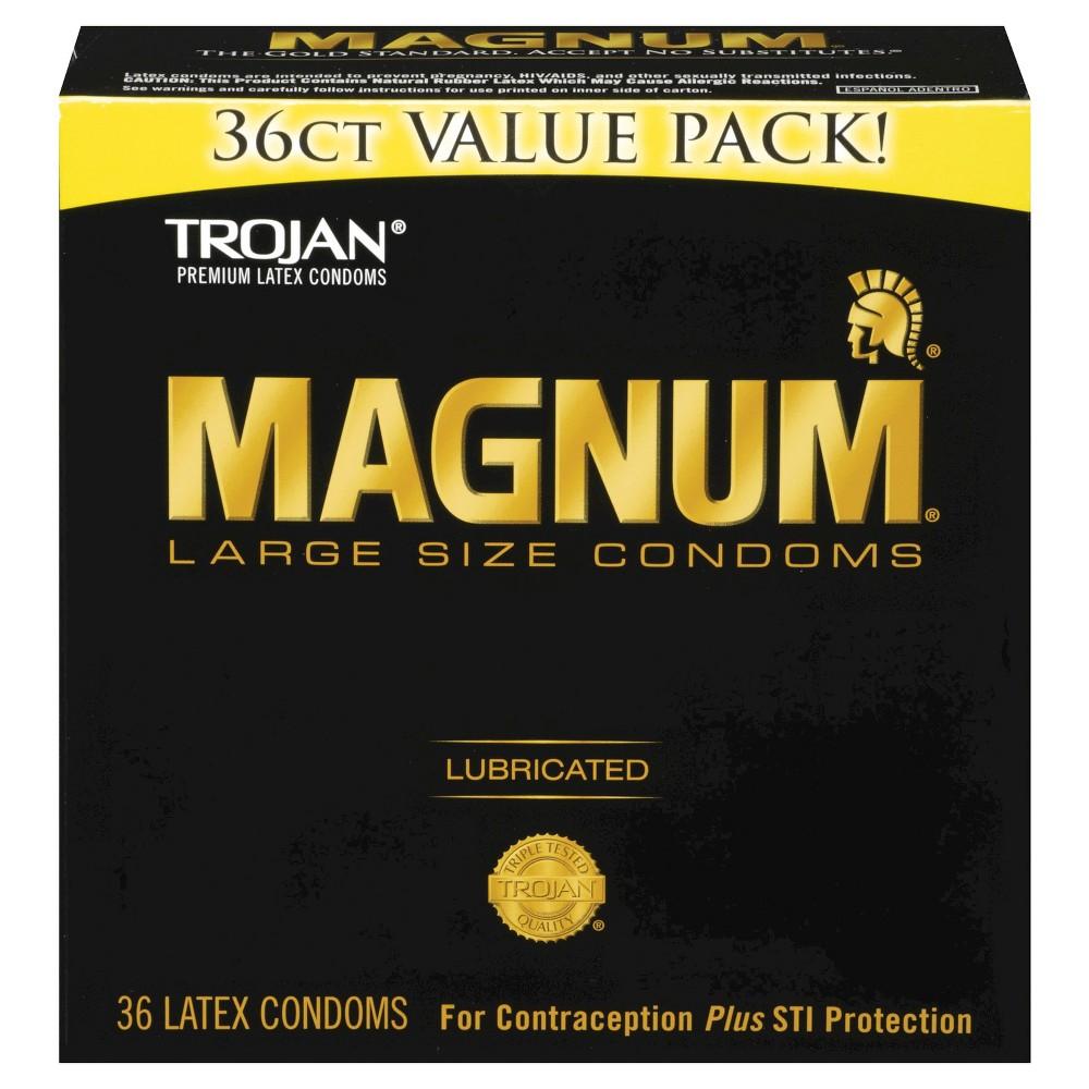 Trojan Magnum Condoms 36CT SC