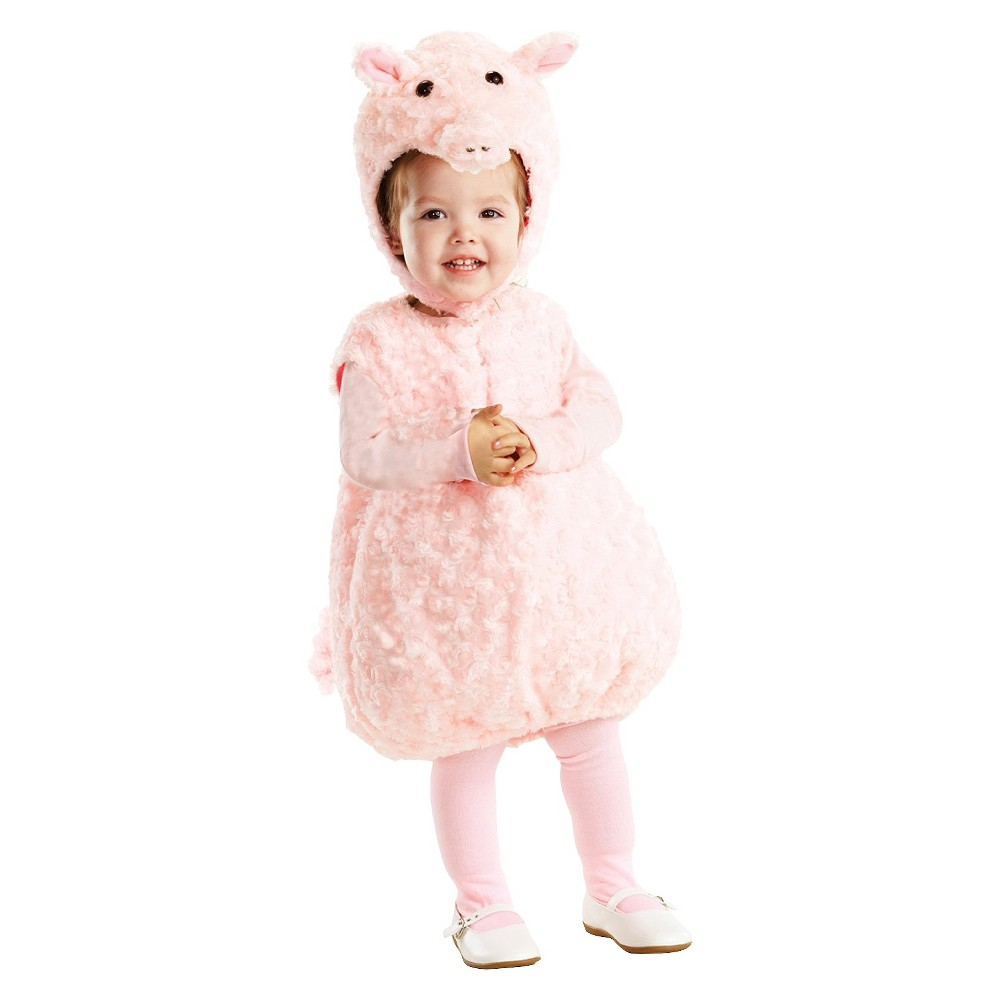 Baby/Toddler Piglet Costume 2T-4T, Toddler Unisex