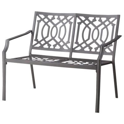 Harper Metal Patio Garden Bench   Threshold™