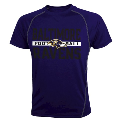 Baltimore Ravens Heather Gray Short Sleeve - image 1 of 1