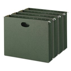 "Smead 10-ct Hanging File - Green (8.5""X11"")"