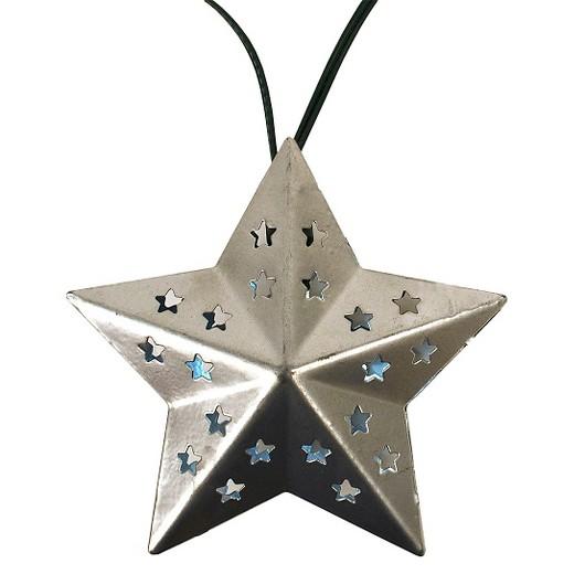 Solar Outdoor String Lights Target : Solar Metal Star String LED Lights (20ct) - Threshold : Target