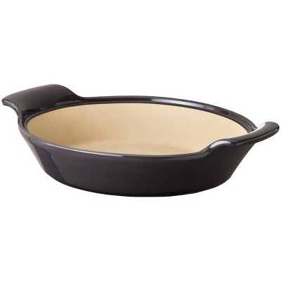 NaturalStone™ Handcraft 9  Deep Dish Pie Pan - Gray