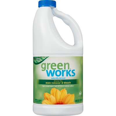 Green Works Chlorine-Free Stain Remover & Bleach - 60oz