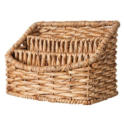 Woven Tray Decorative Basket with 3 Compartments - Smith & Hawken™