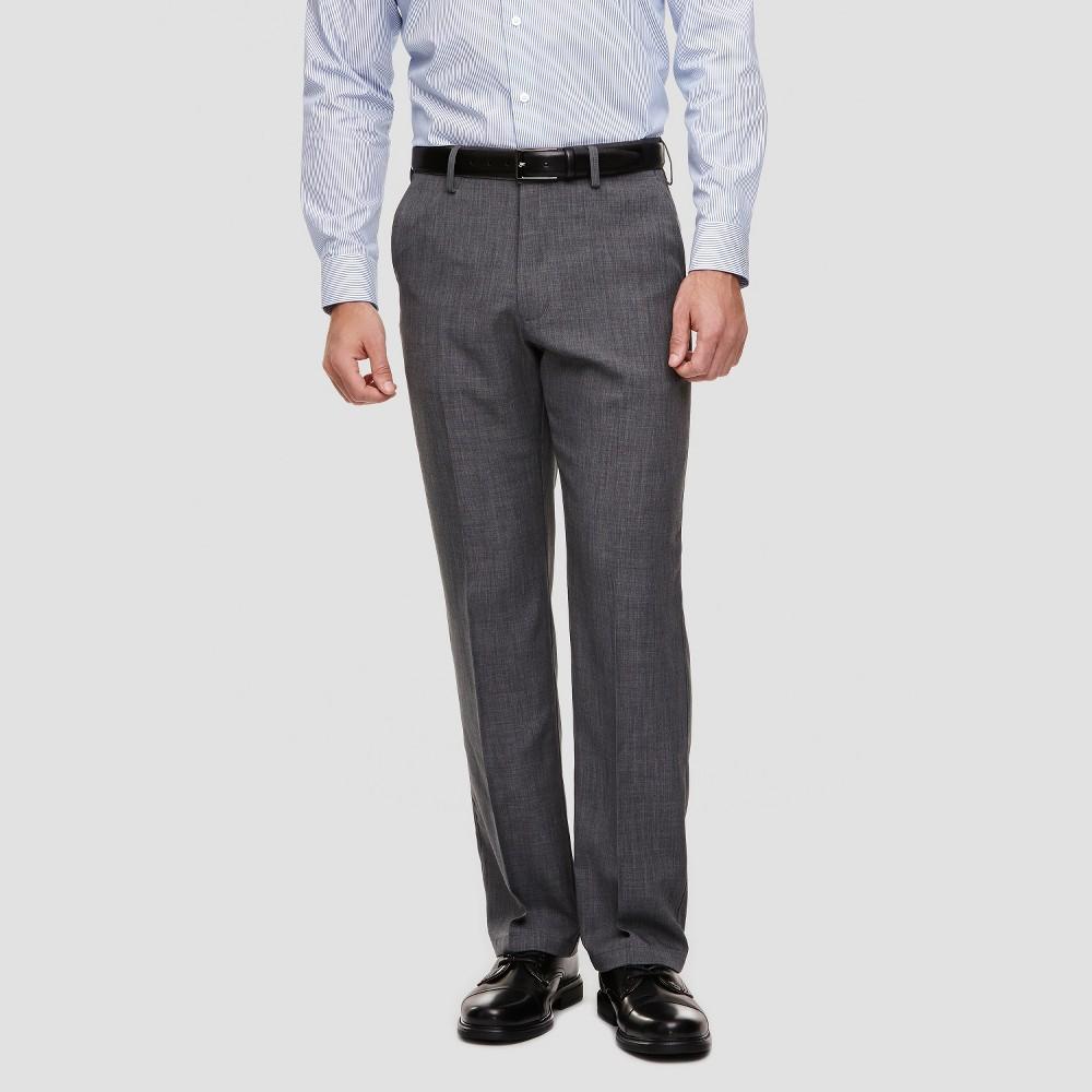 Haggar H26 - Men's Classic Fit Performance Pants Charcoal (Grey) 38X31