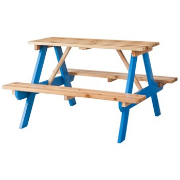 Kids Wood Patio Picnic Table