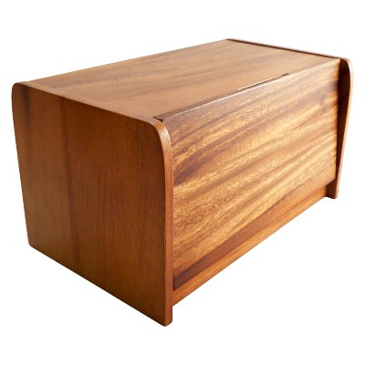 Acacia Wood Bread Box - Threshold™