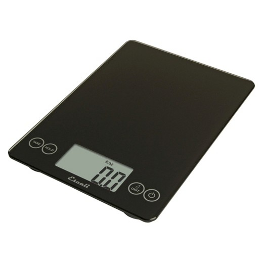 escali arti digital food scale - 15 lb capacity - black : target