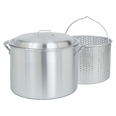 Bayou Classic 20 Qt Boiler/Fryer - Silver