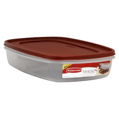 Rubbermaid® Easy Find Lids Food Storage Container - 1.5gal