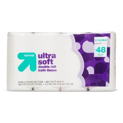 Premium Bath Tissue - 24pk - up & up™