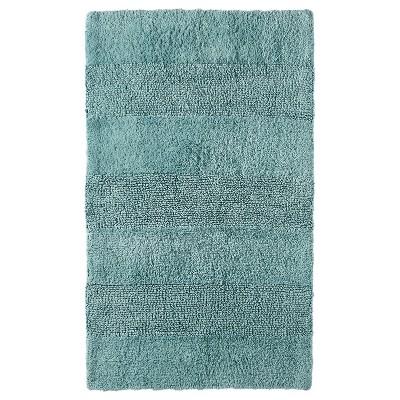 Bath Rug Gray Aqua (24x38 )- Nate Berkus™