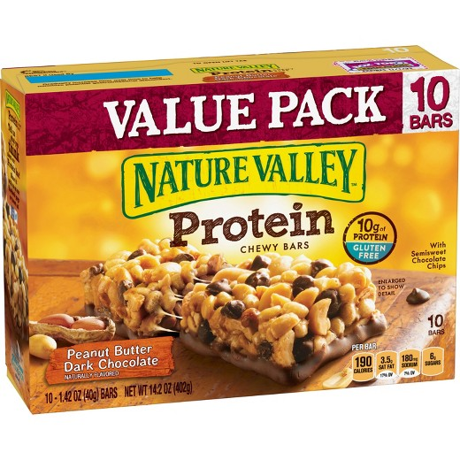 Nature Valley Peanut Butter Dark Chocolate Protein Bars Ct