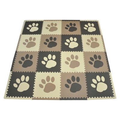 Tadpoles 16-Piece Set Playmat - Pawprint