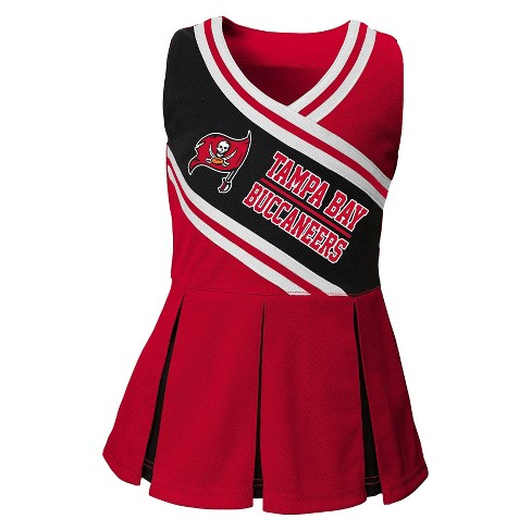 Tampa Bay Buccaneers Toddler Cheerleader Set With Bloom - image 1 of 2