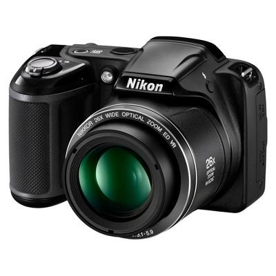 Nikon L320 16.1MP Digital Camera with 26x Optical Zoom - Black (26392)