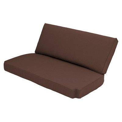 Great Brooks Island 2 Piece Outdoor Replacement Loveseat Cushion Set   Smith U0026  Hawken™
