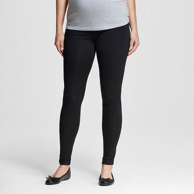 Maternity Knit Leggings Black M-Liz Lange® for Target®